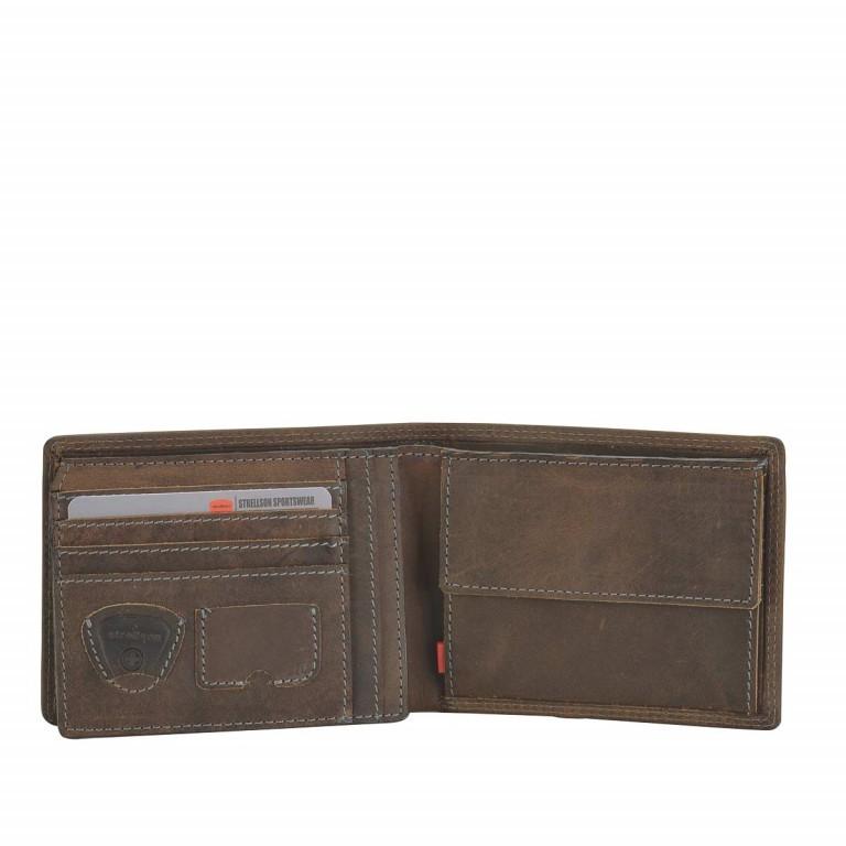 Strellson Baker Street Billfold H7 Scheintasche Leder Dark Brown, Farbe: braun, Marke: Strellson, EAN: 4006053044424, Abmessungen in cm: 12.5x9.5x2.0, Bild 2 von 2