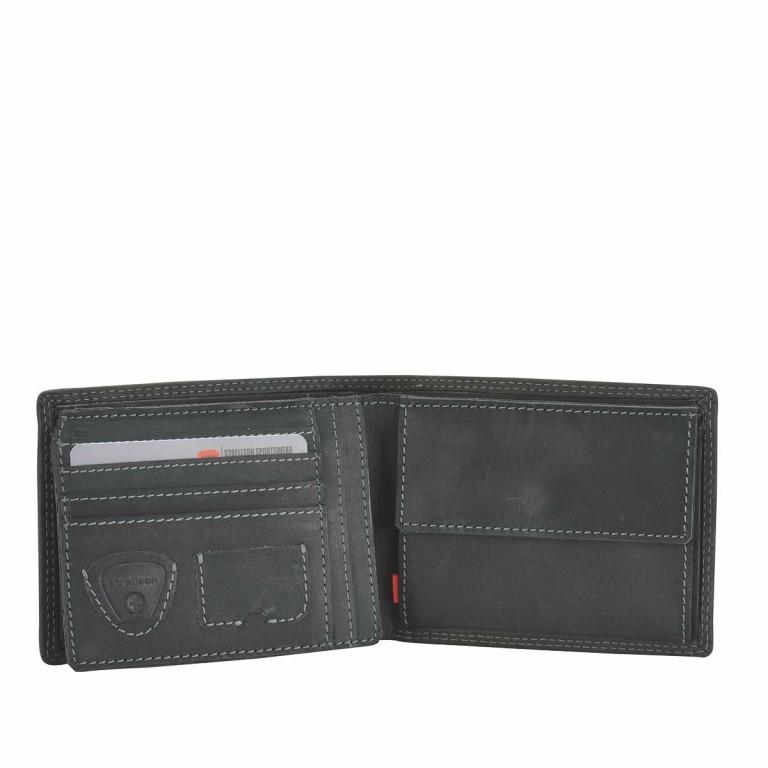 Strellson Baker Street Billfold H7 Scheintasche Leder Black, Farbe: schwarz, Marke: Strellson, EAN: 4006053044417, Abmessungen in cm: 12.5x9.5x2.0, Bild 2 von 2
