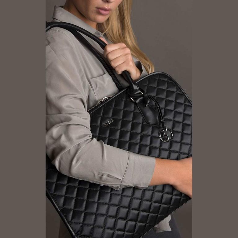 Socha Business Bag Black Diamond Facelift, Farbe: schwarz, Marke: Socha, EAN: 4029276048307, Abmessungen in cm: 43.0x32.0x14.0, Bild 6 von 6