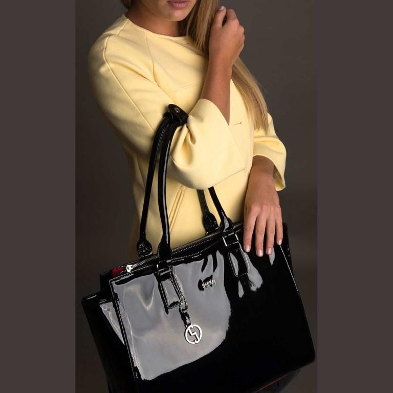 Socha Business Bag Black Mirror, Farbe: schwarz, Marke: Socha, EAN: 4029276048390, Abmessungen in cm: 48.0x32.5x14.0, Bild 4 von 4