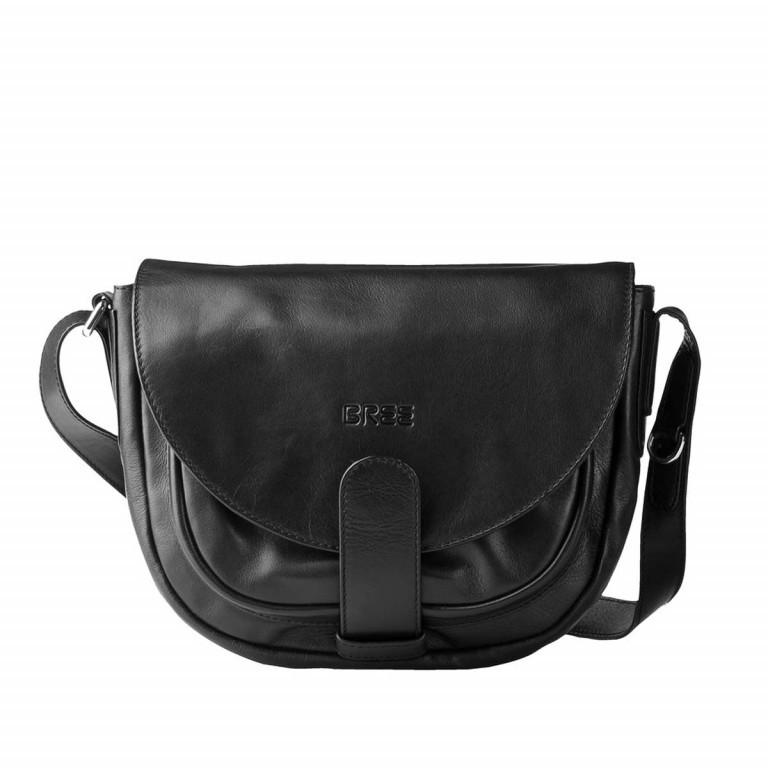 BREE Lady Top 2 Damenhandtasche Schwarz, Farbe: schwarz, Marke: Bree, Abmessungen in cm: 28.0x24.0x10.0, Bild 1 von 2