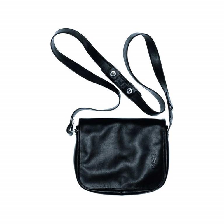 BREE Lady Top 12 Damenhandtasche Leder Schwarz, Farbe: schwarz, Marke: Bree, Abmessungen in cm: 25.0x20.0x11.0, Bild 2 von 2