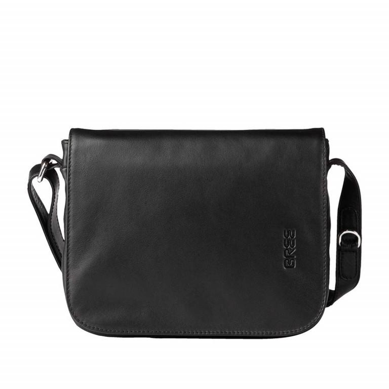 BREE Lady Top 12 Damenhandtasche Leder Schwarz, Farbe: schwarz, Marke: Bree, Abmessungen in cm: 25.0x20.0x11.0, Bild 1 von 2