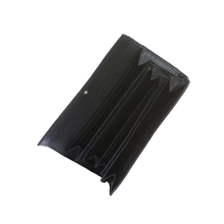 BREE Nola 100 Flachbörse Leder Schwarz, Farbe: schwarz, Marke: Bree, Abmessungen in cm: 19.5x9.0x3.0, Bild 2 von 2