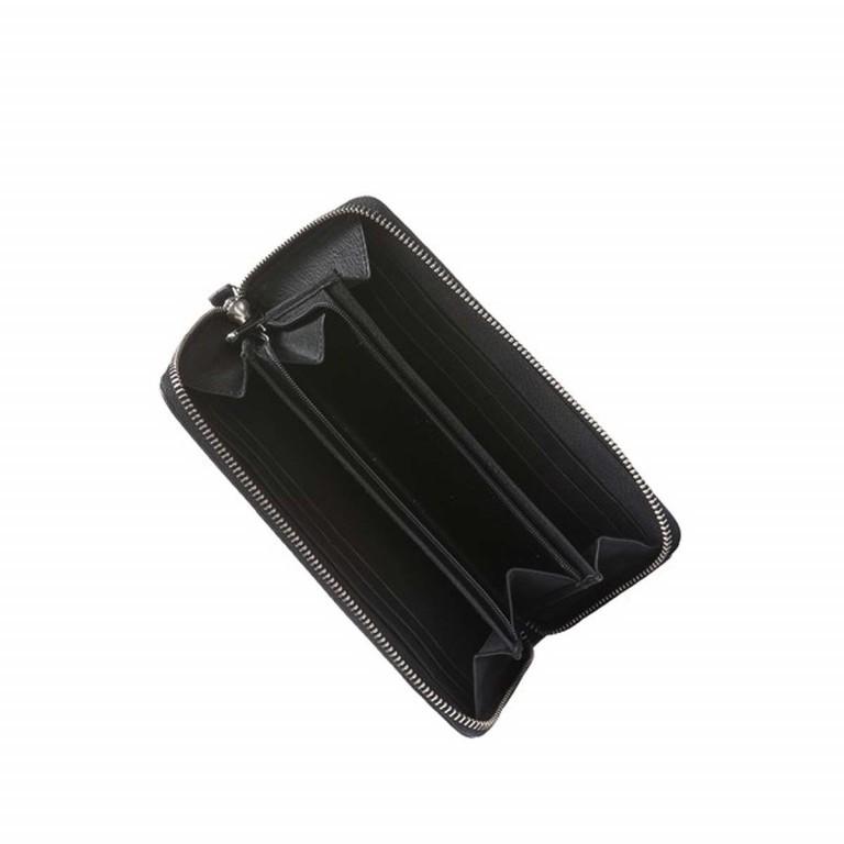 BREE Nola 101 Damenbörse Leder Schwarz, Farbe: schwarz, Marke: Bree, Abmessungen in cm: 20.0x10.0x2.0, Bild 2 von 2