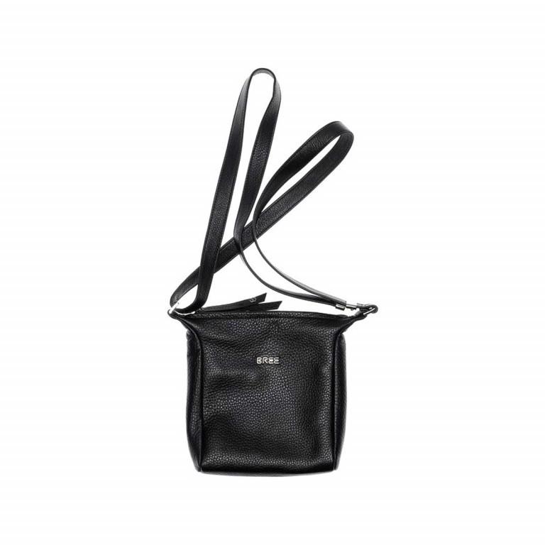BREE Nola 1 Handtasche Leder Schwarz, Farbe: schwarz, Marke: Bree, Abmessungen in cm: 18.0x20.0x6.0, Bild 2 von 2