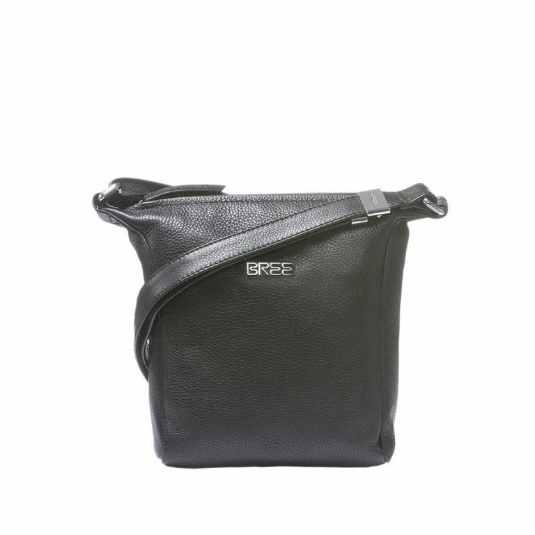 BREE Nola 1 Handtasche Leder Schwarz, Farbe: schwarz, Marke: Bree, Abmessungen in cm: 18.0x20.0x6.0, Bild 1 von 2