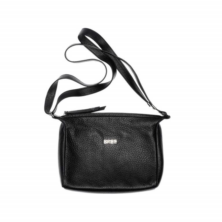 BREE Nola 2 Handtasche Leder Schwarz, Farbe: schwarz, Marke: Bree, Abmessungen in cm: 26.0x20.0x7.0, Bild 2 von 2