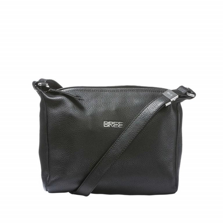 BREE Nola 2 Handtasche Leder Schwarz, Farbe: schwarz, Marke: Bree, Abmessungen in cm: 26.0x20.0x7.0, Bild 1 von 2