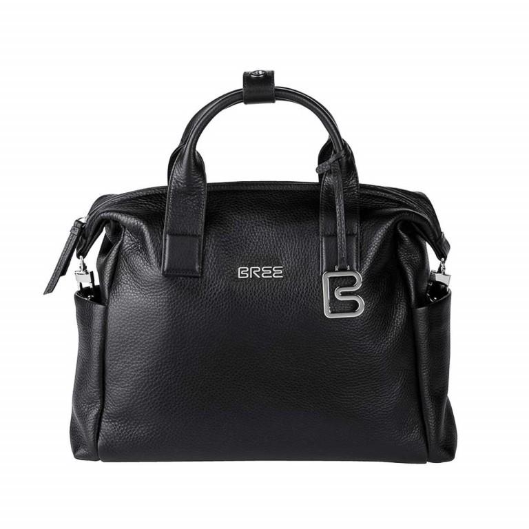 BREE Nola 7 Business Shopper Leder Schwarz, Farbe: schwarz, Marke: Bree, Abmessungen in cm: 37.0x28.0x11.0, Bild 1 von 1