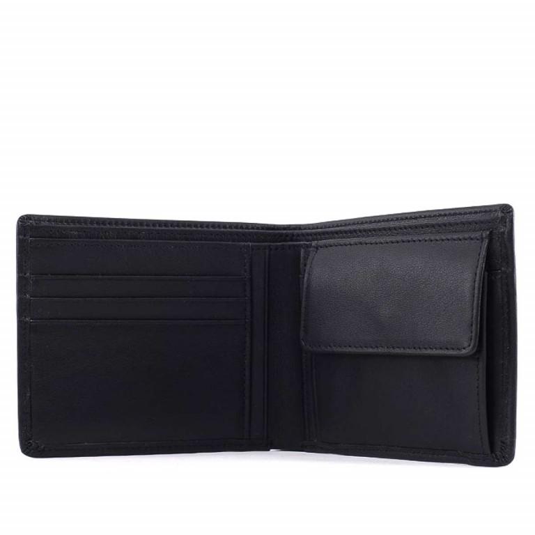 BREE Pocket 109 Geldbörse Scheintasche Leder Schwarz, Farbe: schwarz, Marke: Bree, Abmessungen in cm: 11.5x9.5x1.5, Bild 2 von 2