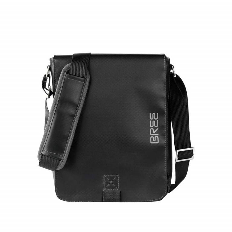 BREE Punch 52 Schultertasche Schwarz, Farbe: schwarz, Marke: Bree, Abmessungen in cm: 21.0x26.0x6.5, Bild 1 von 1