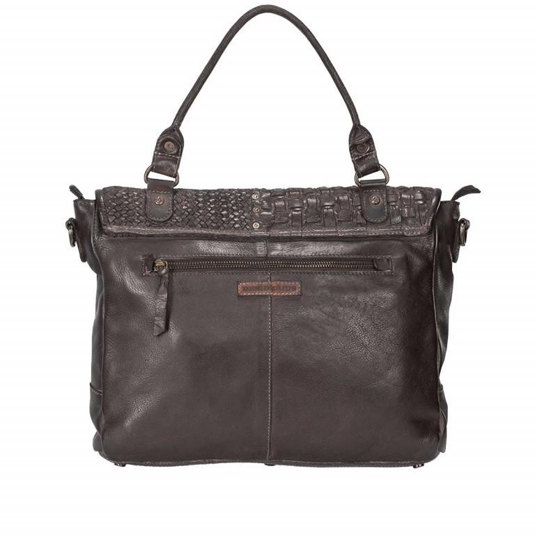 Desiderius Ailine Brigida Tasche Dark Brown, Farbe: braun, Marke: Desiderius, Abmessungen in cm: 34.0x28.0x7.0, Bild 3 von 3