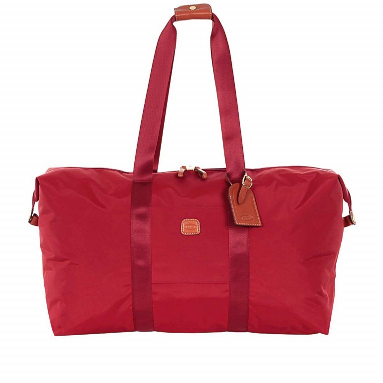 Brics X-Bag 2 in 1 Reisetasche Langgriff BXG30202 Rot, Farbe: rot/weinrot, Marke: Brics, Abmessungen in cm: 55.0x32.0x20.0, Bild 1 von 7