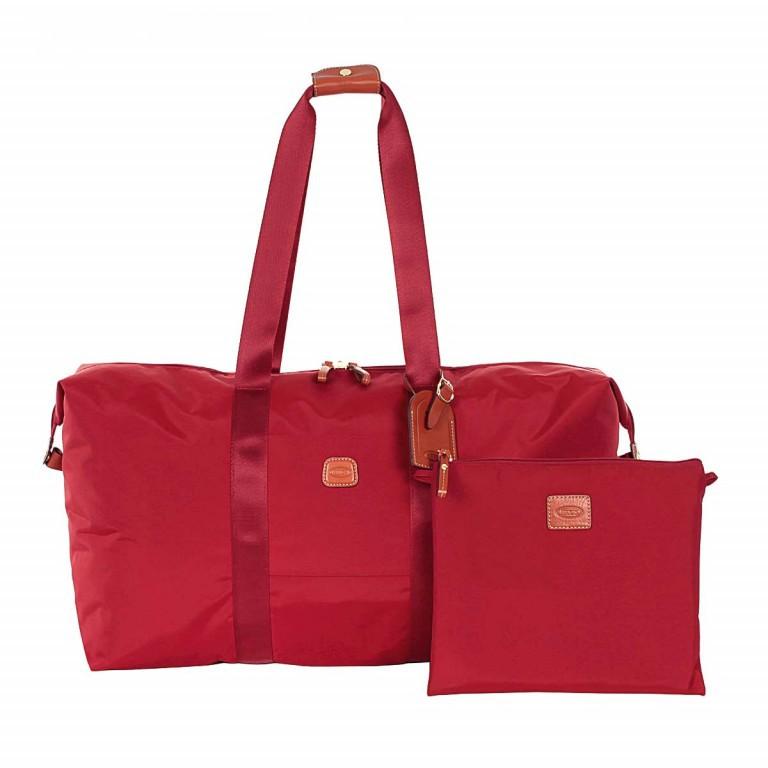 Brics X-Bag 2 in 1 Reisetasche Langgriff BXG30202 Rot, Farbe: rot/weinrot, Marke: Brics, Abmessungen in cm: 55.0x32.0x20.0, Bild 2 von 7