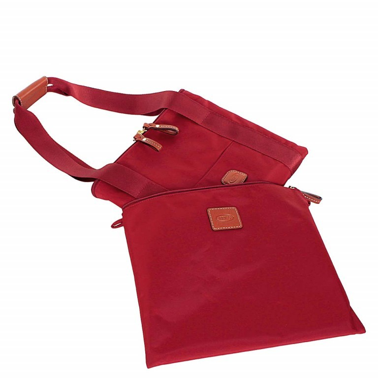 Brics X-Bag 2 in 1 Reisetasche Langgriff BXG30202 Rot, Farbe: rot/weinrot, Manufacturer: Brics, Dimensions (cm): 55.0x32.0x20.0, Image 3 of 7