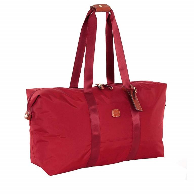 Brics X-Bag 2 in 1 Reisetasche Langgriff BXG30202 Rot, Farbe: rot/weinrot, Marke: Brics, Abmessungen in cm: 55.0x32.0x20.0, Bild 4 von 7