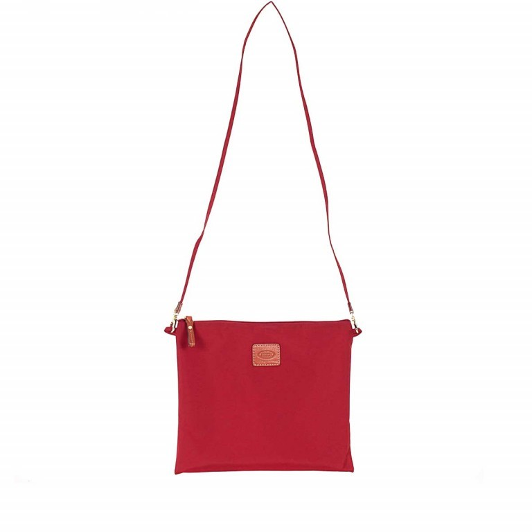 Brics X-Bag 2 in 1 Reisetasche Langgriff BXG30202 Rot, Farbe: rot/weinrot, Manufacturer: Brics, Dimensions (cm): 55.0x32.0x20.0, Image 6 of 7