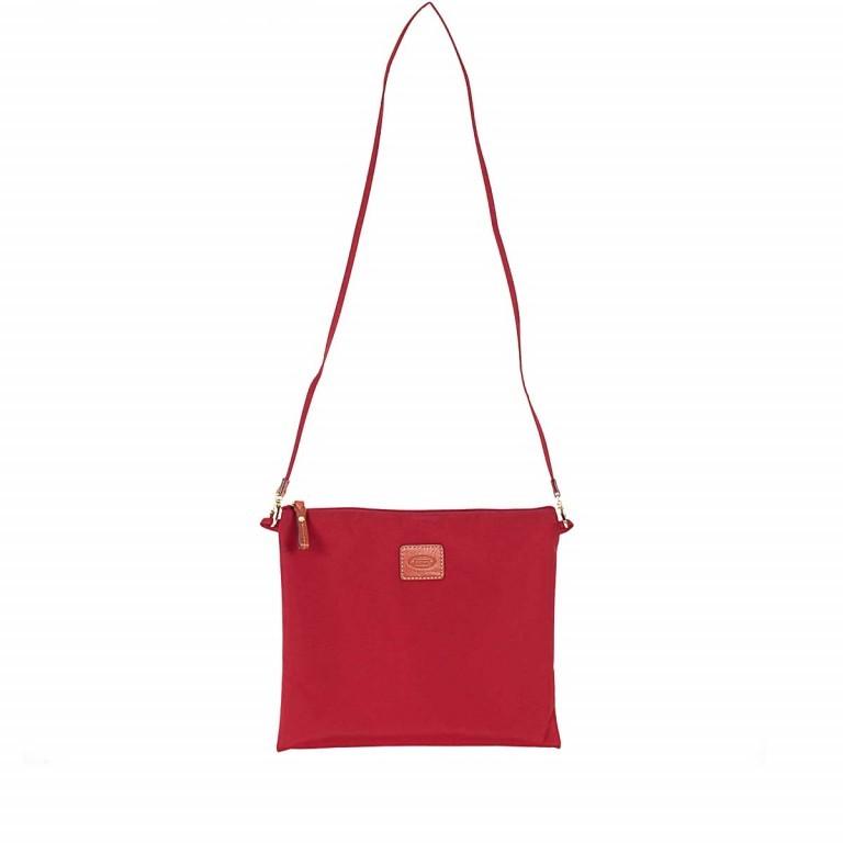 Brics X-Bag 2 in 1 Reisetasche Langgriff BXG30202 Rot, Farbe: rot/weinrot, Marke: Brics, Abmessungen in cm: 55.0x32.0x20.0, Bild 6 von 7