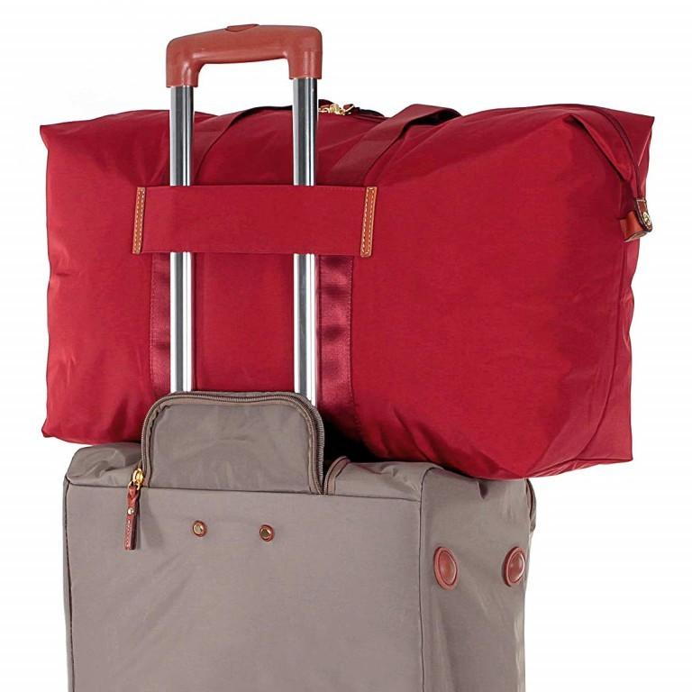 Brics X-Bag 2 in 1 Reisetasche Langgriff BXG30202 Rot, Farbe: rot/weinrot, Marke: Brics, Abmessungen in cm: 55.0x32.0x20.0, Bild 7 von 7