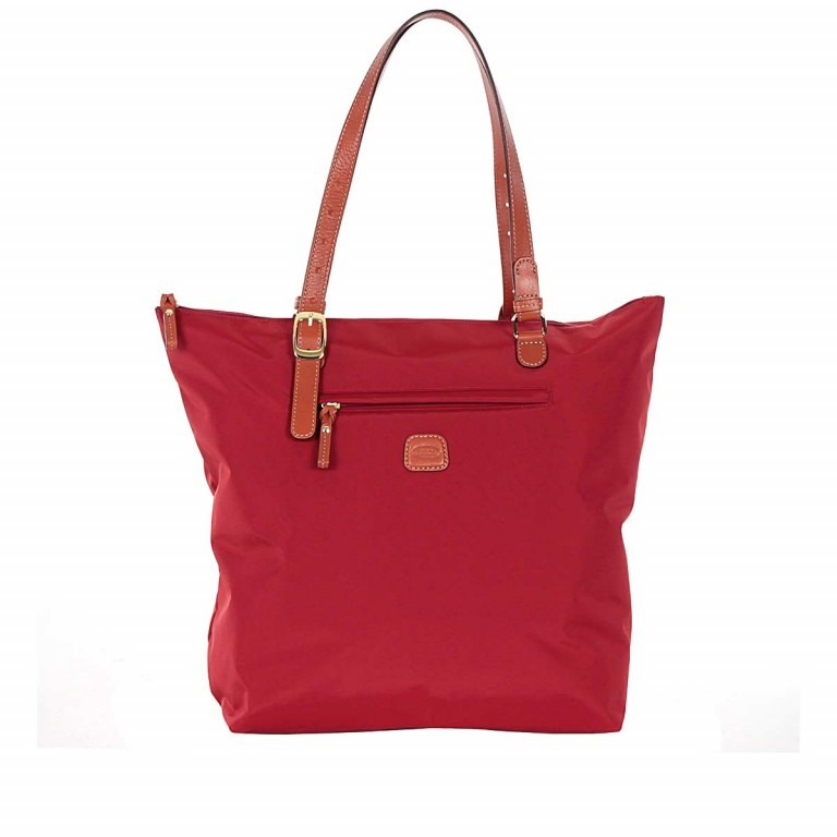 Brics X-Bag 3 in 1 Shopper L BXG35070 Red, Farbe: rot/weinrot, Marke: Brics, Abmessungen in cm: 35.0x34.0x15.0, Bild 1 von 5