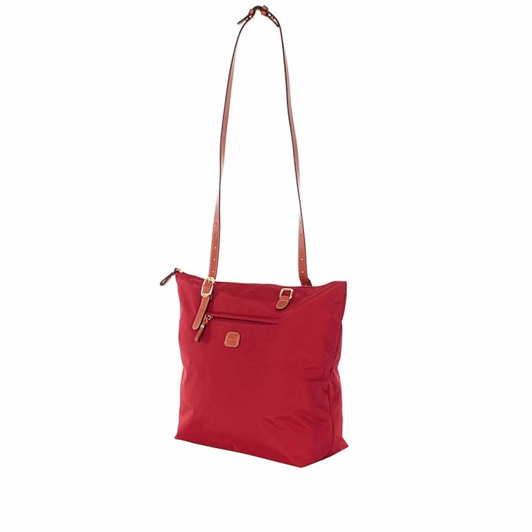 Brics X-Bag 3 in 1 Shopper L BXG35070 Red, Farbe: rot/weinrot, Marke: Brics, Abmessungen in cm: 35.0x34.0x15.0, Bild 4 von 5
