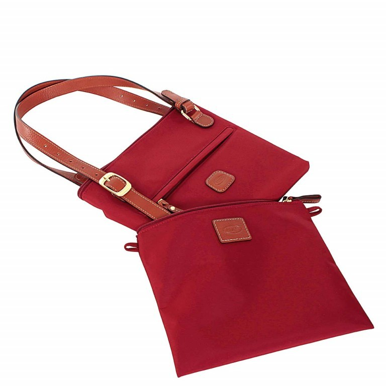 Brics X-Bag 3 in 1 Shopper L BXG35070 Red, Farbe: rot/weinrot, Marke: Brics, Abmessungen in cm: 35.0x34.0x15.0, Bild 3 von 5