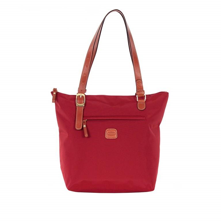 Brics X-Bag 3 in 1 Shopper M BXG35071 Rot, Farbe: rot/weinrot, Marke: Brics, Abmessungen in cm: 26.0x27.0x15.0, Bild 1 von 4