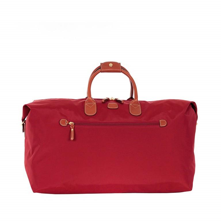 Brics X-Travel 2 in 1 Reisetasche Kurzgriff BXL30202 Rot, Farbe: rot/weinrot, Marke: Brics, Abmessungen in cm: 55.0x32.0x20.0, Bild 1 von 6