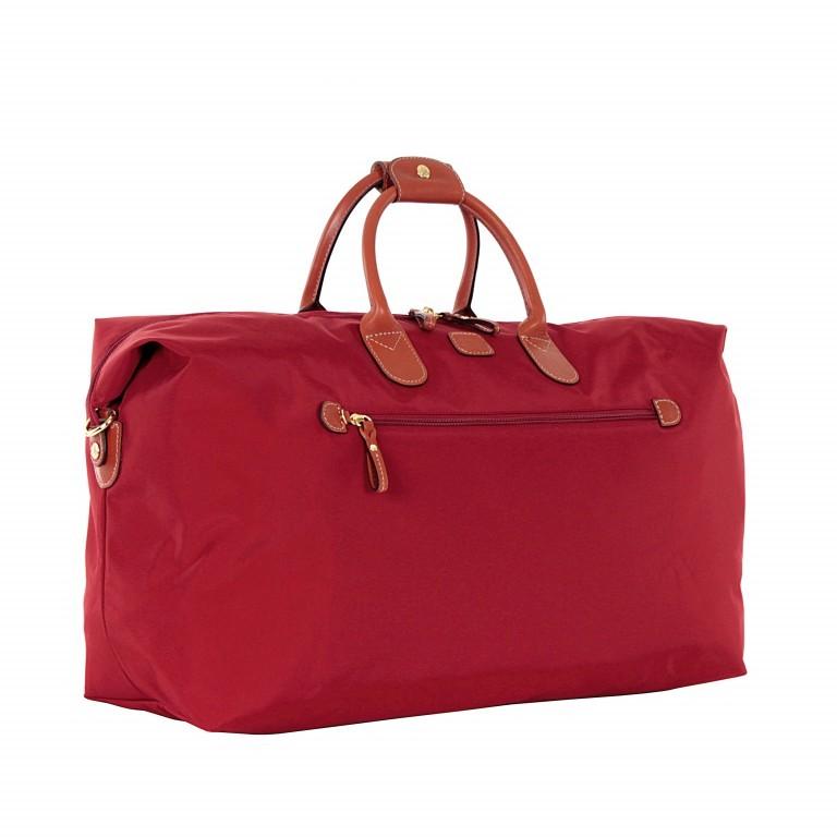 Brics X-Travel 2 in 1 Reisetasche Kurzgriff BXL30202 Rot, Farbe: rot/weinrot, Marke: Brics, Abmessungen in cm: 55.0x32.0x20.0, Bild 2 von 6