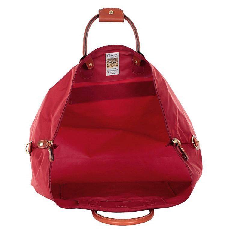 Brics X-Travel 2 in 1 Reisetasche Kurzgriff BXL30202 Rot, Farbe: rot/weinrot, Marke: Brics, Abmessungen in cm: 55.0x32.0x20.0, Bild 5 von 6
