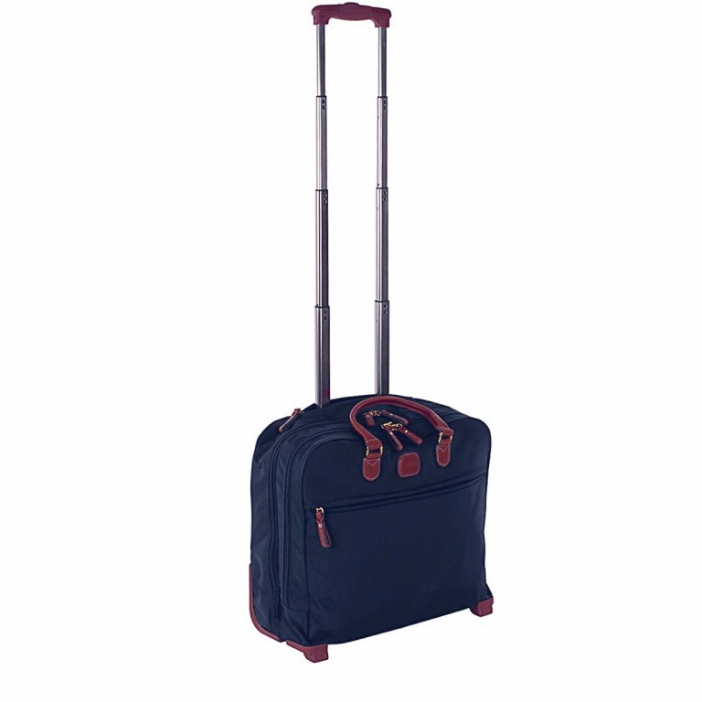 Brics X-Travel Business Trolley BXL38124 Blau, Farbe: blau/petrol, Marke: Brics, Abmessungen in cm: 40.5x36.0x16.0, Bild 2 von 4