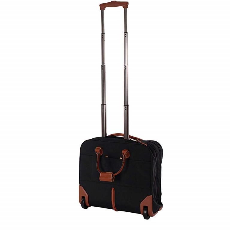 Brics X-Travel Business Trolley BXL38124 Schwarz, Farbe: schwarz, Marke: Brics, Abmessungen in cm: 40.5x36.0x16.0, Bild 3 von 4