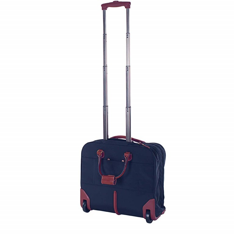 Brics X-Travel Business Trolley BXL38124 Blau, Farbe: blau/petrol, Marke: Brics, Abmessungen in cm: 40.5x36.0x16.0, Bild 3 von 4
