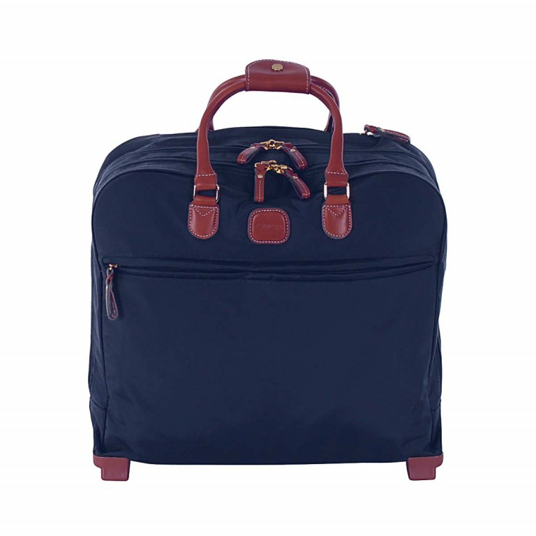 Brics X-Travel Business Trolley BXL38124 Blau, Farbe: blau/petrol, Marke: Brics, Abmessungen in cm: 40.5x36.0x16.0, Bild 1 von 4