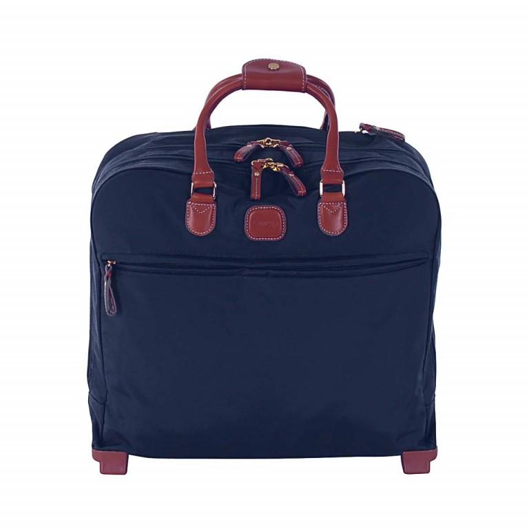 Brics X-Travel Business Trolley BXL38124 Blau, Farbe: blau/petrol, Marke: Brics, Abmessungen in cm: 40.5x36.0x16.0, Bild 1 von 4