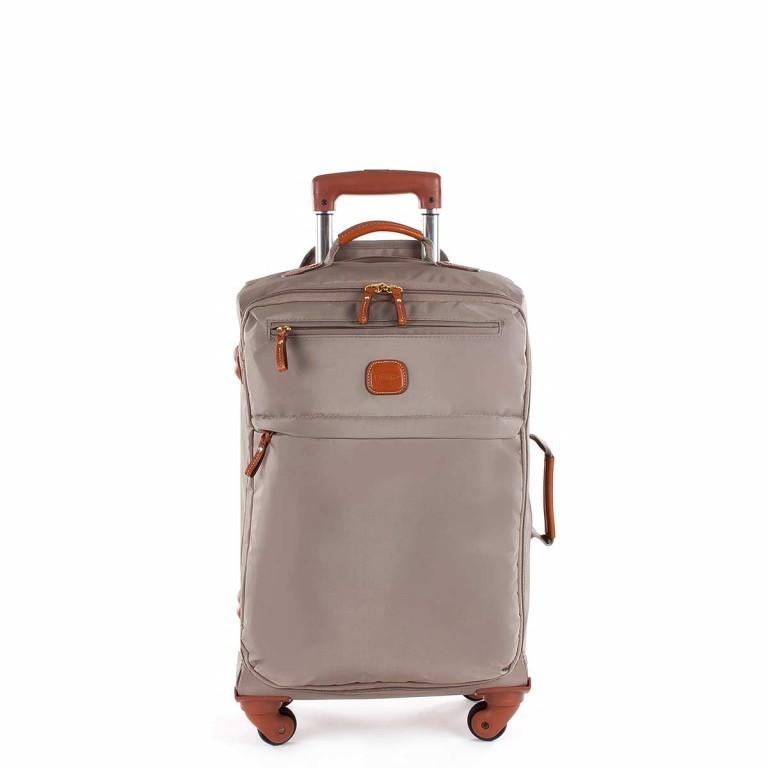 Brics X-Travel Trolley 4-Rollen 55cm BXL48117 Dove Grey, Farbe: taupe/khaki, Marke: Brics, Abmessungen in cm: 36.0x55.0x23.0, Bild 1 von 4