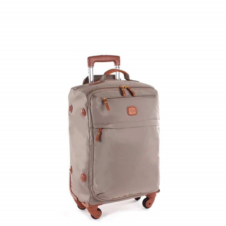 Brics X-Travel Trolley 4-Rollen 55cm BXL48117 Dove Grey, Farbe: taupe/khaki, Marke: Brics, Abmessungen in cm: 36.0x55.0x23.0, Bild 2 von 4