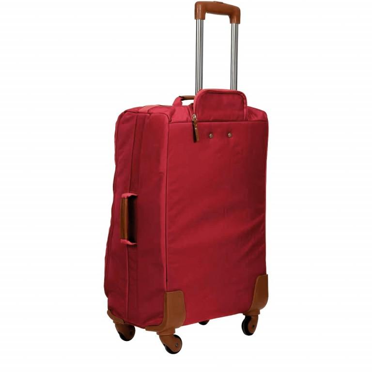 Brics X-Travel Trolley 4-Rollen 65cm BXL48118 Red, Farbe: rot/weinrot, Marke: Brics, Abmessungen in cm: 40.0x65.0x24.0, Bild 4 von 7
