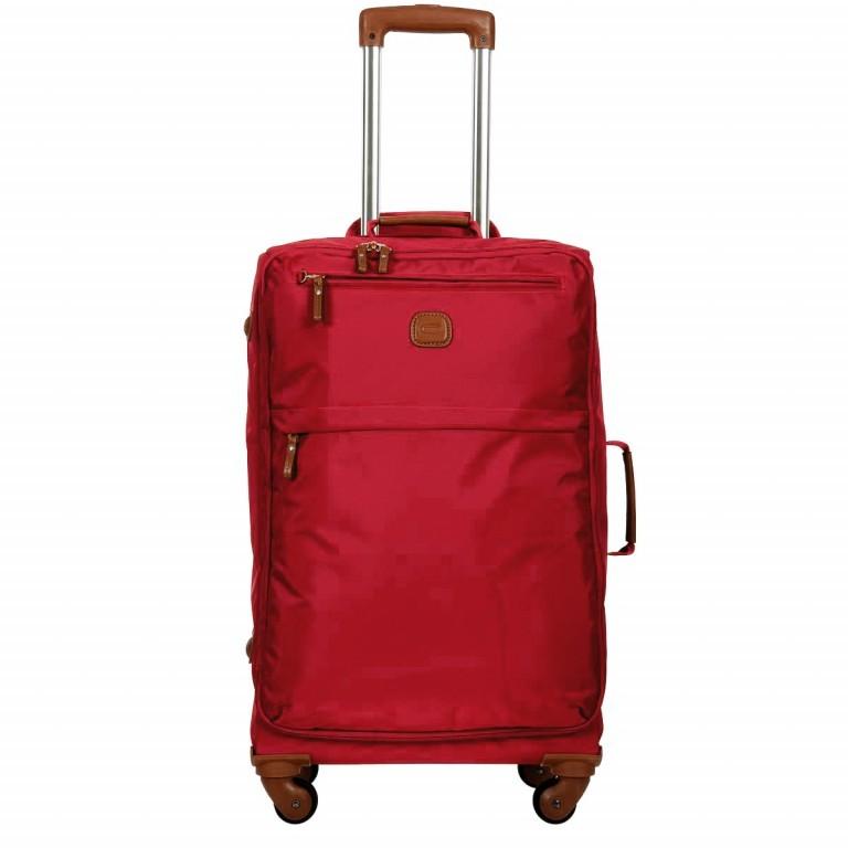 Brics X-Travel Trolley 4-Rollen 65cm BXL48118 Red, Farbe: rot/weinrot, Marke: Brics, Abmessungen in cm: 40.0x65.0x24.0, Bild 1 von 7