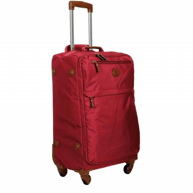 Brics X-Travel Trolley 4-Rollen 65cm BXL48118 Red, Farbe: rot/weinrot, Marke: Brics, Abmessungen in cm: 40.0x65.0x24.0, Bild 2 von 7