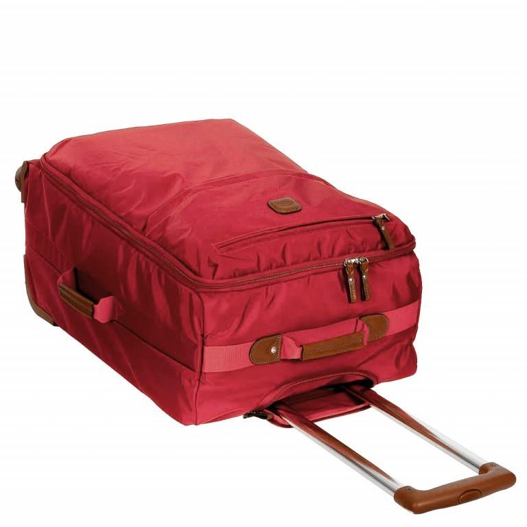 Brics X-Travel Trolley 4-Rollen 65cm BXL48118 Red, Farbe: rot/weinrot, Marke: Brics, Abmessungen in cm: 40.0x65.0x24.0, Bild 6 von 7