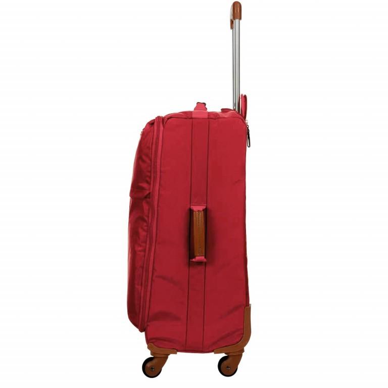 Brics X-Travel Trolley 4-Rollen 65cm BXL48118 Red, Farbe: rot/weinrot, Marke: Brics, Abmessungen in cm: 40.0x65.0x24.0, Bild 3 von 7