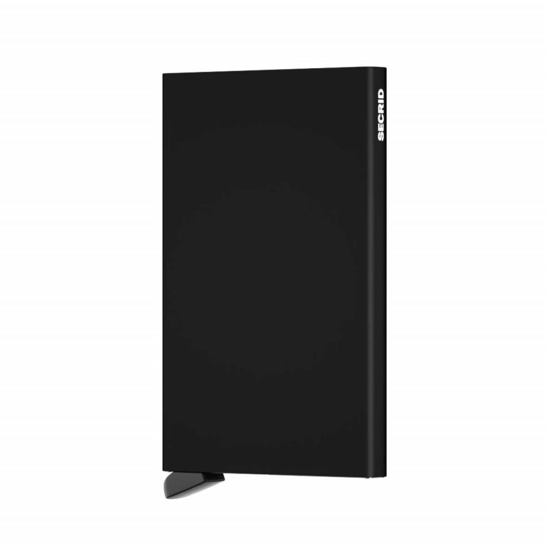 SECRID Cardprotector Black, Farbe: schwarz, Manufacturer: Secrid, Dimensions (cm): 6.3x10.2x0.8, Image 2 of 3