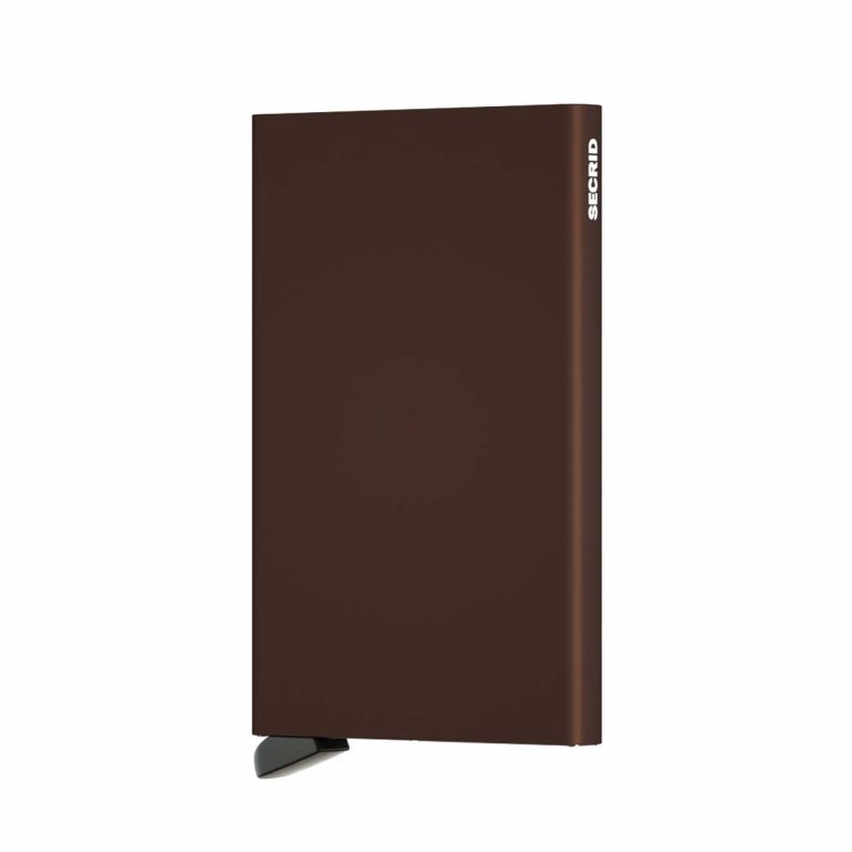 SECRID Cardprotector Brown, Farbe: braun, Manufacturer: Secrid, Dimensions (cm): 6.3x10.2x0.8, Image 2 of 3
