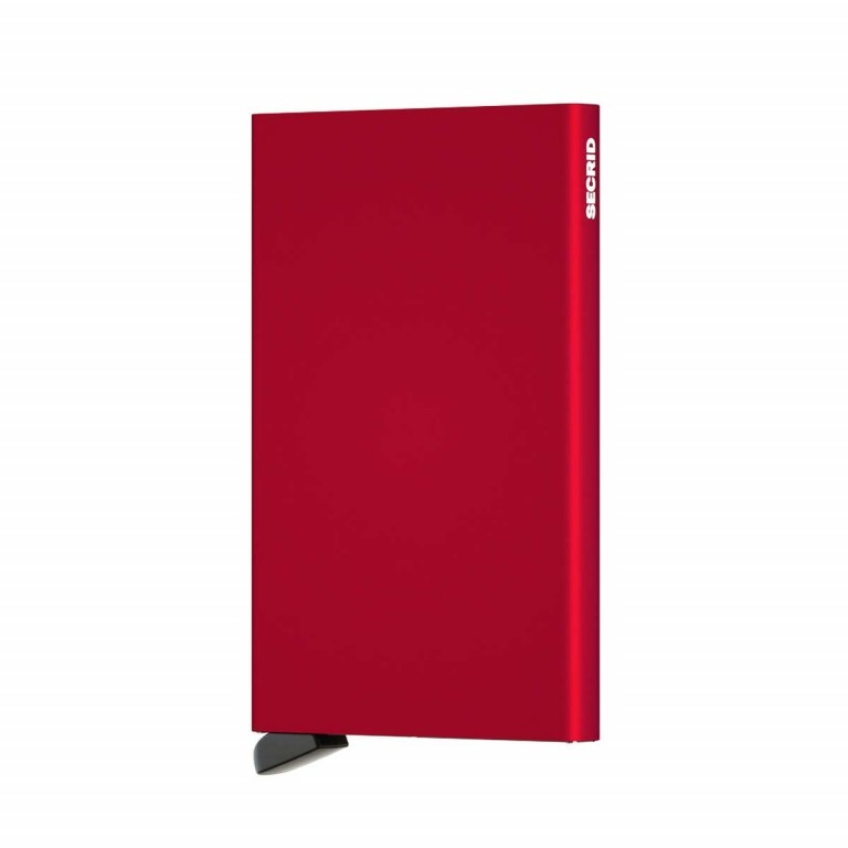 SECRID Cardprotector Red, Farbe: rot/weinrot, Manufacturer: Secrid, Dimensions (cm): 6.3x10.2x0.8, Image 2 of 3