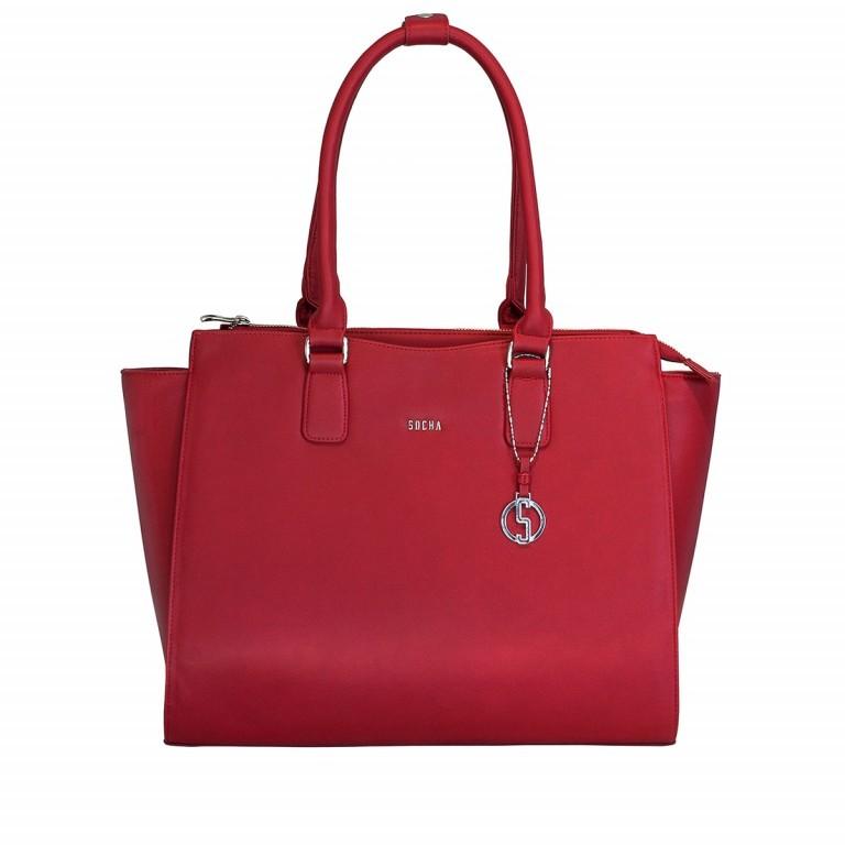 Socha Business Bag Caddy Rouge, Farbe: rot/weinrot, Marke: Socha, Abmessungen in cm: 48.0x32.5x14.0, Bild 1 von 4