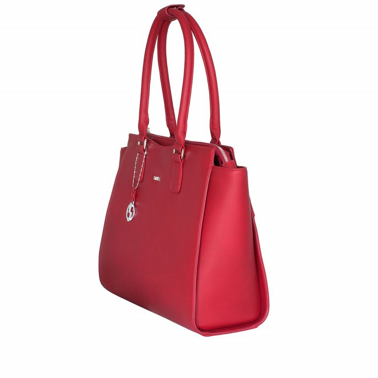 Socha Business Bag Caddy Rouge, Farbe: rot/weinrot, Marke: Socha, Abmessungen in cm: 48.0x32.5x14.0, Bild 2 von 4