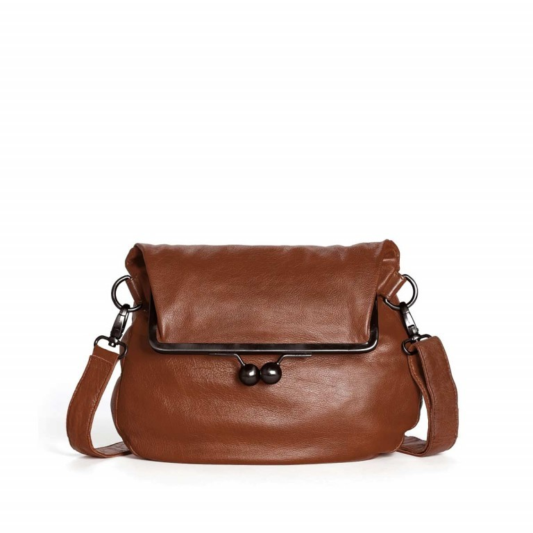Sticks and Stones Cannes Bag - Buff Washed Leder Cognac, Farbe: cognac, Marke: Sticks and Stones, Bild 1 von 1