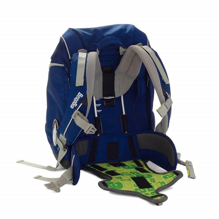 Ergobag Schulranzen-Set 6-teilig SchlauBär, Farbe: blau/petrol, Marke: Ergobag, EAN: 4260217195579, Abmessungen in cm: 25.0x35.0x22.0, Bild 5 von 6